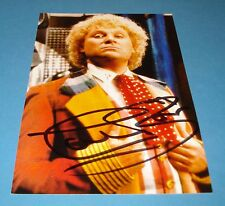 COLIN BAKER GENUINE AUTHENTIC SIGNED AUTOGRAPH 6x4 PHOTO DOCTOR DR WHO + COA