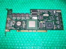 Adaptec 2810SA  8-port SATA RAID Controller Card with cables, working pull