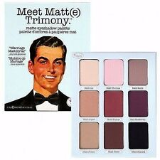 The Balm Meet Matt(e) Trimony Eye Shadow Palette - New in Sleeve