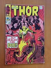 Thor # 153 (June 1968) ...But Dr. Blake Can Die