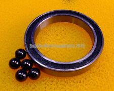 2 PCS S6205-2RS (25x52x15 mm) Stainless Steel Hybrid Ceramic Bearings 25*52*15
