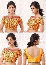 Designer Blouse Traditional Party Wear Women Crop Top Bollywood Choli Ready Made