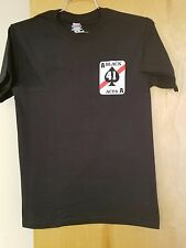 VF-41 BLACK ACES FIRST TO FIGHT, FIRST TO STRIKE T-SHIRT IN THE SIZE SMALL