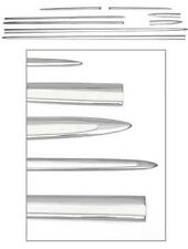 55 Chevy Bel-Air 2-Door Hardtop Stainless Side Molding 8 Piece Set 1955