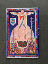 Vintage 1940 French Holy Card  Prayer The Legion of Mary