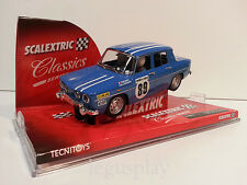 Slot SCX Scalextric 6316 Renault 8 Therier Callewaert - Rally Monte Carlo 1969
