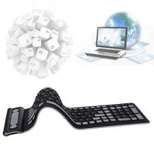 Wireless Waterproof Flexible Rollup Portable Folding Typing Silicone Keyboard SP