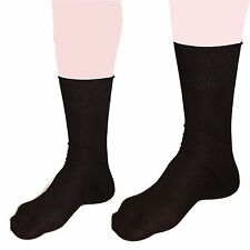 VELO Ninja Tabi Socks Finger Kung Fu Cotton Adult Size Fit to All 5-9 Black