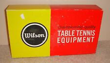 WILSON Heavy Duty Championship Sports Table Tennis Ping Pong Net and Post Set