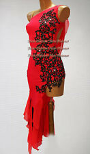 L3730 ballroom latin swings samba rumba salsa dance dress US 12  sexy