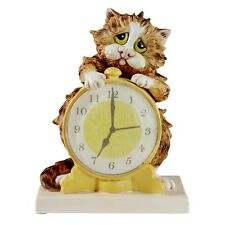 Comic and Curious Cats A22916 Morning Call Figurine