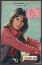1969 TV TIMES GUIDE~TISHA STERLING~DAYS OF OUR LIVES~SUSAN SEAFORTH~JAMES BROWN