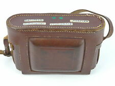 KERSHAW PEREGRINE III BROWN LEATHER CAMERA CASE