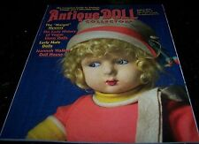 5 ANTIQUE DOLL COLLECTOR MAGAZINES - 2015 & 2016 ISSUES