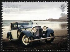 1934 BENTLEY 3.5 Litre Derby Saloon Car Automobile Stamp (2016 Jersey)