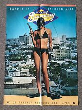 1978 David Bromberg Band Bandit In A Bathing Suit Billboard Poster 32x23