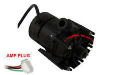 "Laing E10 spa hot tub circulation pump 230V 3/4"" THREADED w/ 4' cord & AMP plug"