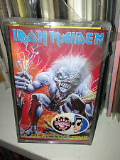 "IRON MAIDEN RARE K7 "" A REAL LIVE ONE "". EMI 78145646. SIGILLATA/SEALED"