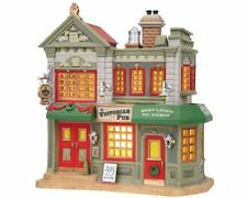 Lemax House 85656 The Victorian Pub Lighted  Building New 2014