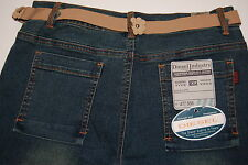 Diesel Industry Denim Division Jeans Flare Tie Belt Siver Buttons Type RR55 NWT