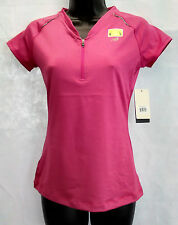 New Balance WRT0321 Short Sleeve Half Zip Tee Shirt Size Euro - M, US - S #W347