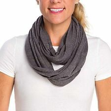 Infantino Infinity Breastfeeding Scarf Nursing Cover No See Through Grey