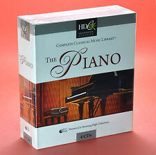 THE PIANO 4 CD Chopin Beethoven Debussy Brahms Rachmaninov Tchaikovsky
