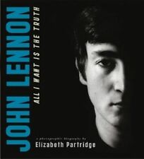 JOHN LENNON All I Want is the Truth by Elizabeth Partridge.Brand New.w/free book
