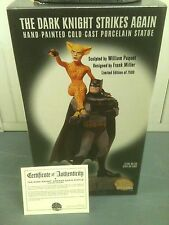 Batman: the dark knight strikes again statue mib, frank miller, DC Direct 2001