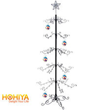 "Gifts 84""H Black METAL CHRISTMAS DISPLAY ORNAMENT TREE Holiday Home Decors"