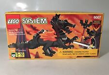 Lego System #6007 Fright Knights Black Dragon Bat Lord Fighting Knight Sealed