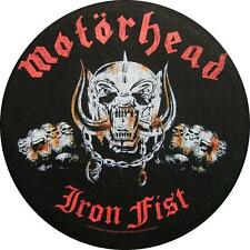 "Motörhead schiena ricamate/Back Patch # 12 ""IRON FIST"""