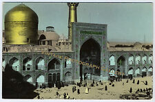 Old Real Photo Postcard RPPC Meshad Iran Middle East