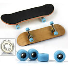 130mm Wooden Deck Fingerboard Skateboard Sport Games Kids Gift Maple Wood New