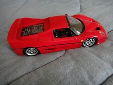 Maisto Special Edition Red Ferrari F50 Close Top 1:18 Diecast Model Car