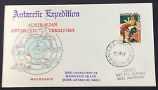 1969 AAT Antarctic expedition - Macquarie base cancelled