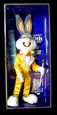 Bugs Bunny 50th Birthday Limited Edition Stuffed Figure Warner New 1940 to 1990