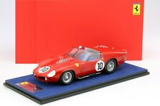 Looksmart Ferrari TR61 Winner Le Mans 1961 #10 with Glass Cover 1/18 Scale New!
