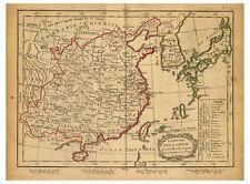 China Guangdong Shandong Henan Sichuan Beijing map Lattre Delamarche ca.1800
