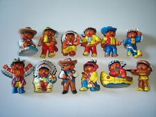 HARIBO WESTERN COWBOYS & INDIANS WILD WEST FIGURINES SET - FIGURES COLLECTIBLES
