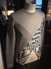 Mens Gareth Pugh Cross Cut Sweatshirt  Size IT 46 Brand