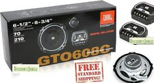 "NEW JBL GTO608C 420W 6.5"" 2-Way Grand Touring GTO Component Car Speaker System"