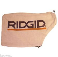 """[HOM] [089028007140] Ridgid R4120 12"""" Compound Miter Saw Replacement Dust Bag"""