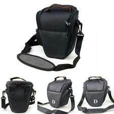 For NIKON D7000 D5100 D800 D3000 D80 SLR DSLR Camera Shoulder Bag Carry Case U75