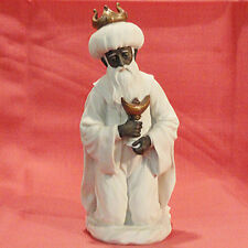 "ARMANI Figurine Magi King-Incense 0705F 9"" tall Italy Porcelain NEW IN BOX"