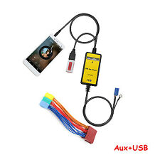 Auto Interface USB MP3 AUX-In Adapter für VW Skoda Seat Beetle Ford 8pin