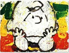 """TOM EVERHART's """"CALL WAITING (CHARLIE BROWN)"""" LIMITED EDITION LITHOGRAPH MINT"""