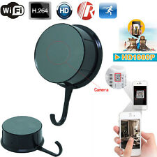 Wifi HD 1080P Wireless IP Hidden Clothes Hook Camera Motion Detect DVR Video DVR