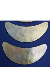 MOTHER OF PEARL FACE MASSAGER STRIGIL* 2,000 YR OLD BEAUTY SECRET FOR YOUNG SKIN