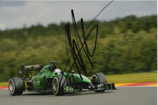 ANDRE LOTTERER CATERHAM F1 HAND SIGNED 6X4 PHOTO.
